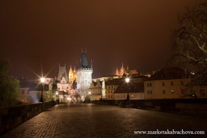 night scape photography Prague